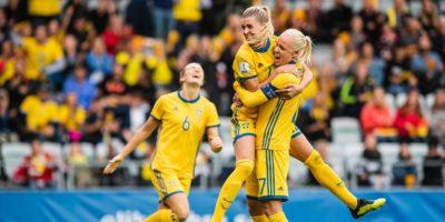 Svenska damlandslaget i fotboll