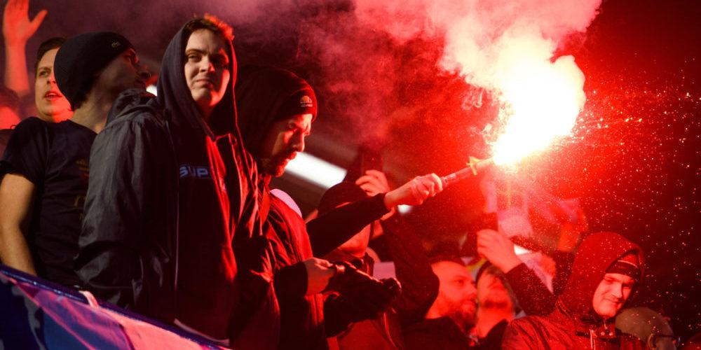Malmö FF pyroteknik