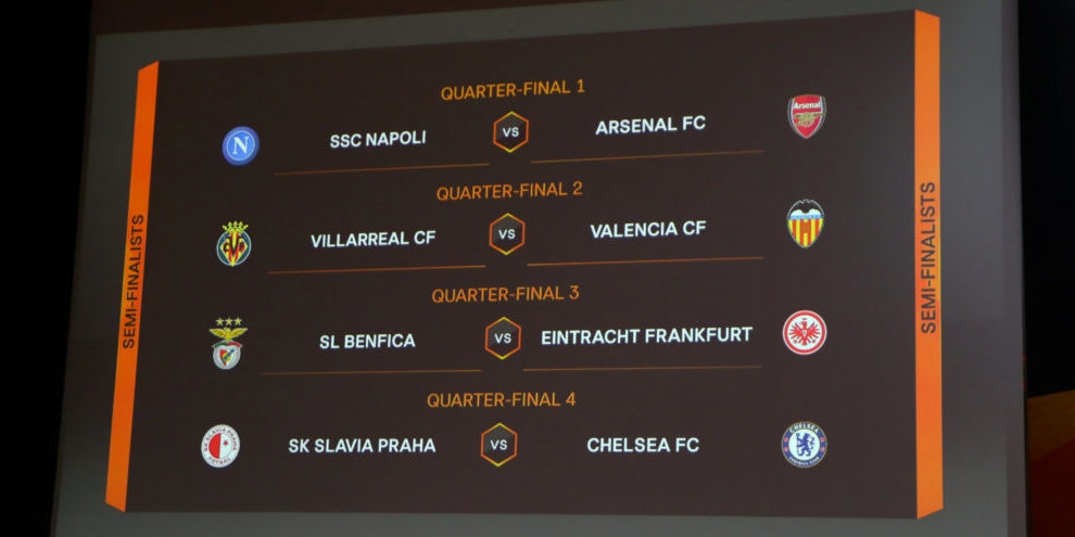 Europa league lottning