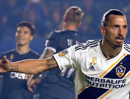 Nytt drömmål av Zlatan när Galaxy förlorade
