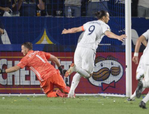 Zlatan tvåmålskytt i comebacken