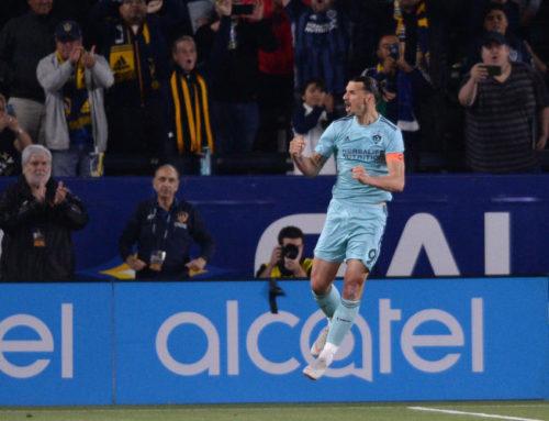 Nytt mål för Zlatan när Galaxy vann