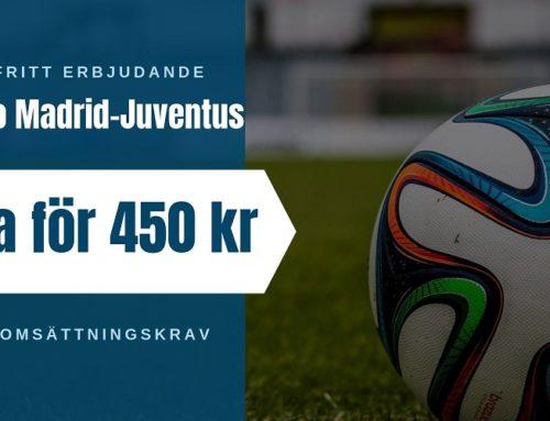 Riskfritt (18/9): CL | Atletico Madrid – Juventus