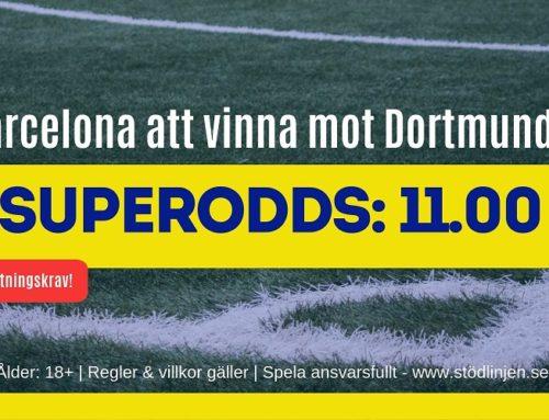 Superodds (17/9) – CL – Dortmund Barcelona