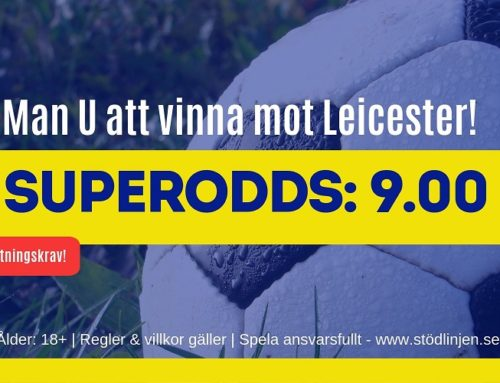 Superodds 14/9 – Manchester United – Leicester