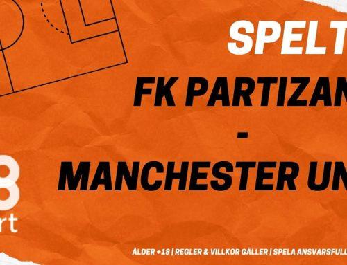 SPELTIPS 24/10: FK Partizan – Manchester United