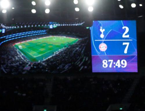 Tottenhamn överkörda av Bayern Munchen i Champions League