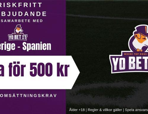 Riskfritt spel (6/10): EM-Kval | Sverige – Spanien
