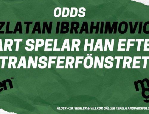Vart spelar Zlatan Ibrahimovic efter vinterns transferfönster?