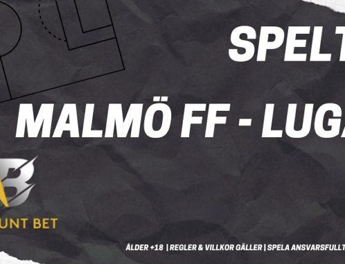 SPELTIPS 24/10: Malmö FF – Lugano