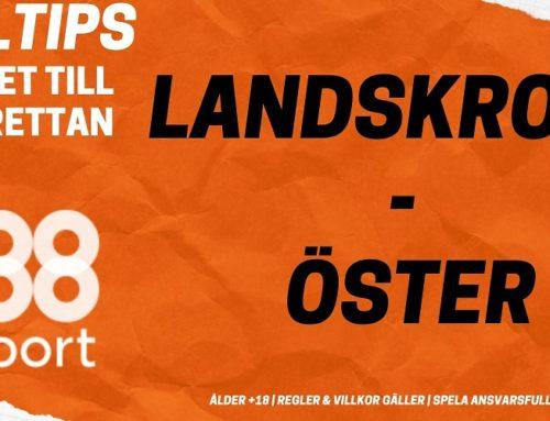 SPELTIPS 7/11: Landskrona Bois – Östers IF