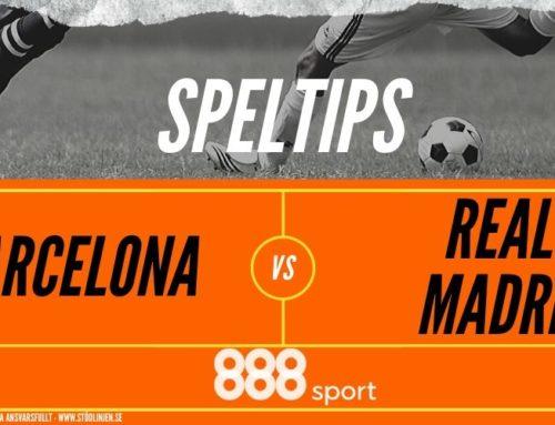 SPELTIPS 18/12 EL CLÁSICO: Barcelona – Real Madrid
