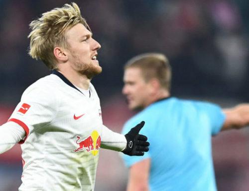 Emil Forsberg ser ut att bli kvar i RB Leipzig trots bristen på speltid