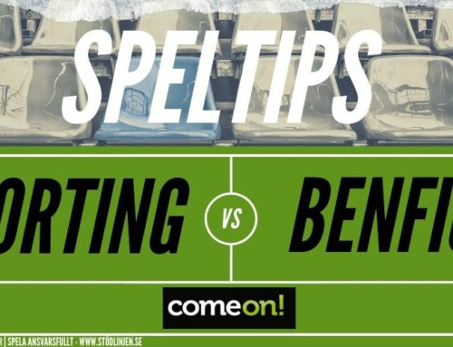 SPELTIPS 17/1 Sporting – Benfica
