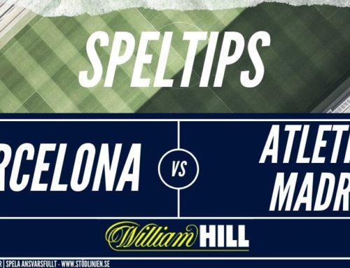SPELTIPS 9/1 Barcelona – Atlético Madrid