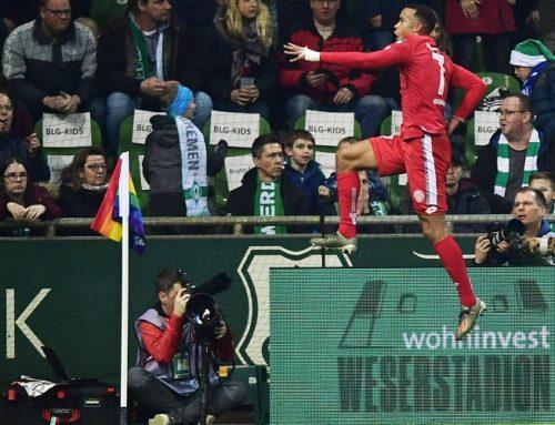 Samtliga resultat och målskyttar från Bundesligahelgen