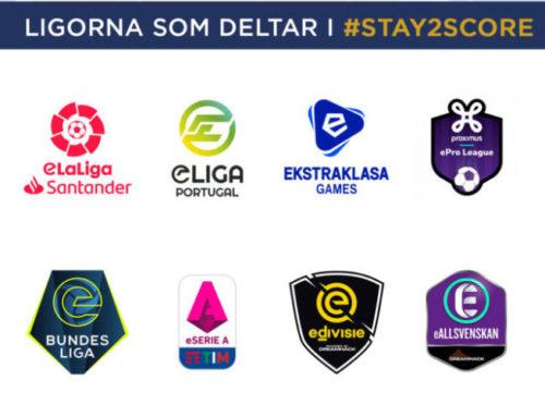 Örgryte och Djurgården representerar Sverige i stor internationell Esport-turnering