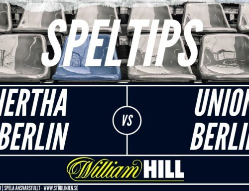 SPELTIPS 22/5: Hertha Berlin – Union Berlin