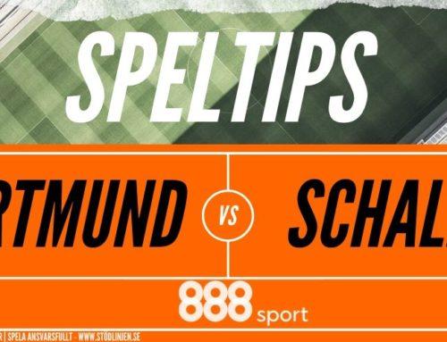 SPELTIPS 16/5: Dortmund – Schalke
