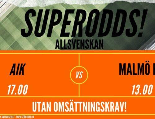 Superodds (28/6) | Allsvenskan: AIK- MFF