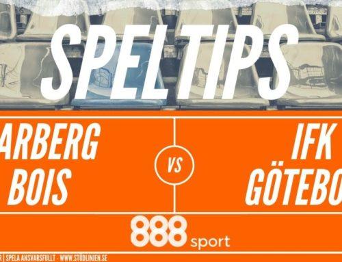 SPELTIPS 17/6: Varberg BoIS – IFK Göteborg