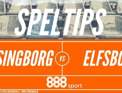 SPELTIPS 22/6: Helsingborg – Elfsborg