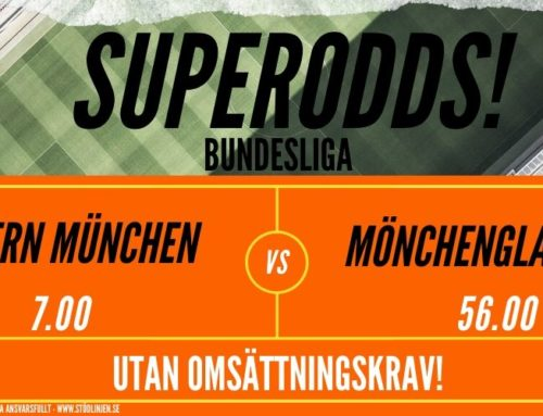 Superodds (13/6) | Bundesliga: Bayern München vs B. Mönchengladbach