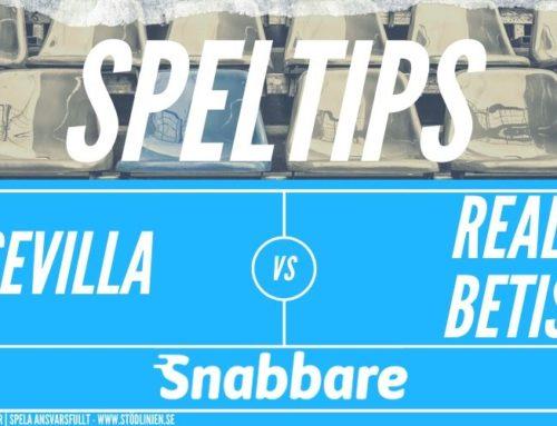 SPELTIPS 11/6: Sevilla – Real Betis
