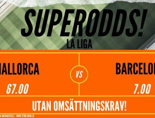 Superodds (13/6) | La liga: Mallorca vs Barcelona