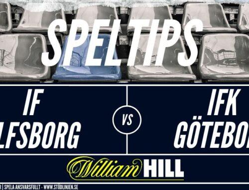 SPELTIPS 9/7: IF Elsborg – IFK Göteborg