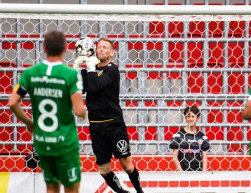 Ludwigson räddade Hammarby i matchens sista spark efter Hammarbymålvaktens tavla
