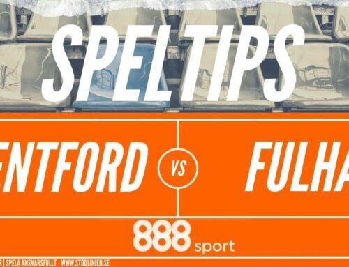 SPELTIPS 4/8: Playoff final | Brentford – Fulham