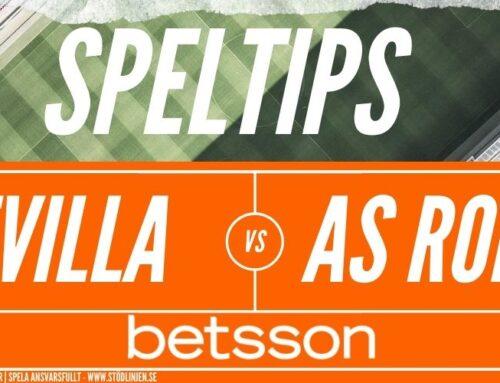 SPELTIPS 6/8: Europa League | Sevilla – AS Roma