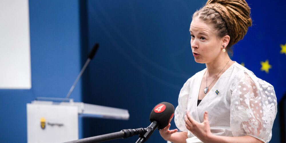 Idrottsminister Amanda Lind