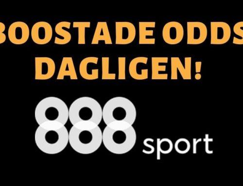 Boostade odds hos 888sport