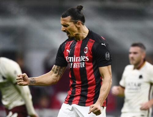 Zlatan Ibrahimovics målsuccé fortsätter i Milan