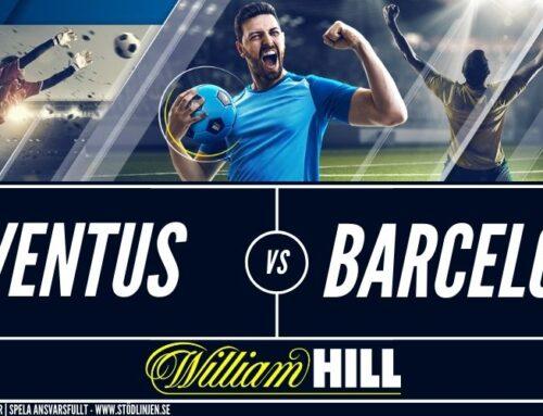 SPELTIPS 28/10: Champions League | Juventus – Barcelona