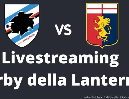 LIVESTREAM: Sampdoria – Genoa