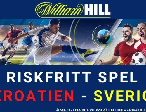 RISKFRITT SPEL: Kroatien vs Sverige