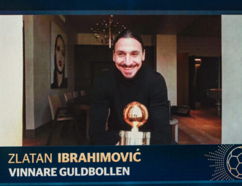 Zlatan Ibrahimovic vinner guldbollen 2020