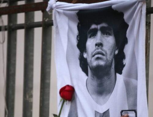 "Stjärnorna hyllar Maradona: ""Odödlig"""