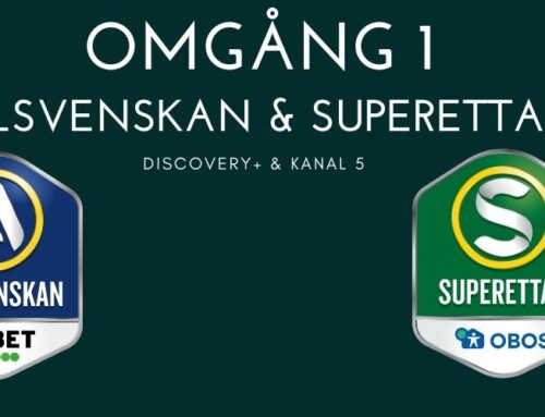 Omgång 1 Allsvenskan och superettan – speldatum och TV-tider