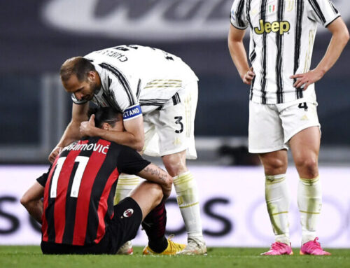 Zlatan Ibrahimovic klev av skadad – idag kommer lugnande besked